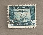 Sellos de Europa - Rumania -  Avión