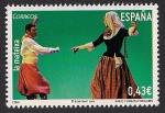 Stamps Spain -  Bailes populares - La mateixa