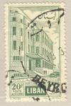 Stamps Asia - Lebanon -  Hotel des postes