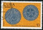 Stamps Cuba -  Aniversario Banco Nacional Cuba