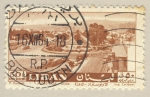 Sellos de Asia - Líbano -  autovia Dora