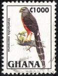 Sellos de Africa - Ghana -  Pajaros