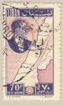 Sellos del Mundo : Asia : Líbano : Politico y mapa