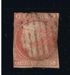 Stamps Europe - Spain -  Edifil  nº  12  Isabel II  1 enero 1852