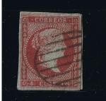 Stamps Europe - Spain -  Edifil  nº  40  Isabel II