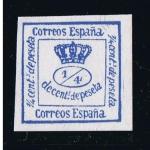 Sellos del Mundo : Europa : España : Edifil  nº  115  Corona Real  Reinado de Amadeo I