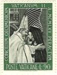 Stamps Vatican City -  Clausura del Concilio Vaticano II