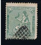 Stamps Europe - Spain -  Edifil  nº  133    Alegoría de  España