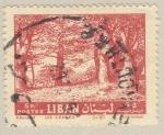Sellos de Asia - Líbano -  bosque de cedros