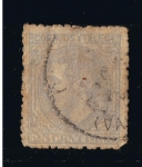 Stamps Europe - Spain -  Edifil  nº  204   Alfonso XII