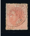 Stamps Europe - Spain -  Edifil  nº  210   Alfonso XII