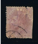 Stamps Europe - Spain -  Edifil  nº  211    Alfonso XII
