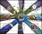 sellos de America - Ecuador -  50º Aniversario del Parque Nacional Galapagos