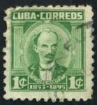 Sellos de America - Cuba -  Martí