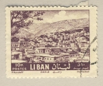 Stamps Lebanon -  Zahle
