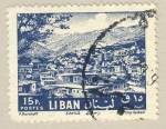 Stamps Lebanon -  Zahle