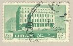 Stamps Lebanon -  Hotel des postes
