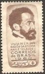 Sellos del Mundo : America : Brasil : haile selassie I, emperador de etiopia visita brasil