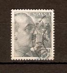 Sellos de Europa - España -  GRAL.  FRANCISCO  FRANCO