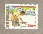 Sellos de Africa - Senegal -  Protección medio ambiente