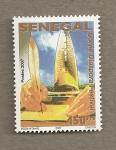 Stamps Senegal -  Festival de la diáspora de Gorée
