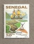 Sellos de Africa - Senegal -  Festival de la diáspora de Gorée