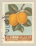 Stamps Asia - Lebanon -  albaricoque