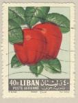 Stamps Asia - Lebanon -  manzana