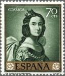 Sellos de Europa - España -  ESPAÑA 1962 1420 Sello Nuevo Pintor Francisco de Zurbaran Santa Casilda