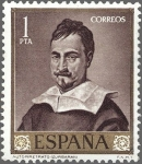 Sellos del Mundo : Europa : España : ESPAÑA 1962 1422 Sello Nuevo Pintor Francisco de Zurbaran Autorretrato