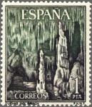 Sellos de Europa - España -  ESPAÑA 1964 1548 Sello Nuevo Serie Turistica Paisajes y Monumentos Cuevas del Drach Mallorca