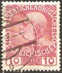 Stamps : Europe : Austria :  106 - Francois Joseph I