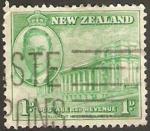 Stamps : Oceania : New_Zealand :  Rey Jorge VI y El Parlamento