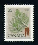 Stamps Canada -  Hojas de árboles- Pino