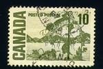 Sellos del Mundo : America : Canadá : paisaje canadiense