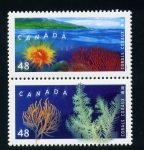 Stamps Canada -  corales