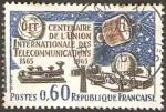 Sellos de Europa - Francia -  centº de la union internacional de telecomunicaciones