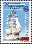 Stamps America - Ecuador -  Buque Escuela Guayas