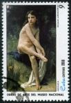 Stamps Cuba -  Obras del Museo Nacional