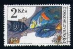 Sellos de Europa - Checoslovaquia -  Peces de arrecife