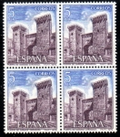 Stamps Spain -  Paisajes y Monumentos: Puerta de Daroca