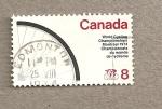 Sellos de America - Canadá -  Campeonatos mundiales de ciclismo