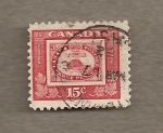 Stamps Canada -  100 Aniv de la administración postal norte américa