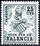 Stamps : Europe : Spain :  Plan Sur de Valencia
