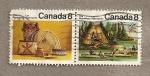 Sellos de America - Canadá -  Los Algonquinos