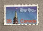 Stamps Canada -  23 Conferencia Parlamentaria de la Commonwealth