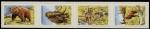 Stamps Ireland -  Animales que habitaron en Irlanda