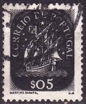 Stamps : Europe : Portugal :  Carabela