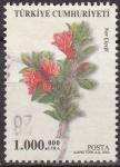 Sellos de Asia - Turquía -  TURQUIA Turkia 2003 Scott 2863 Sello Serie Flora Granada Nar Cicegi usado