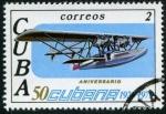 Stamps Cuba -  Aniversario Cubana de Aviación
